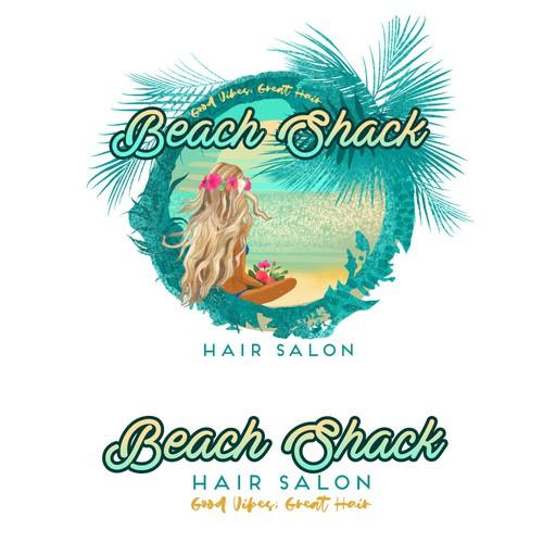 Logo for the Hair Salon