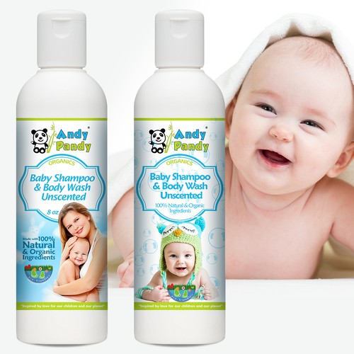 Andy Pandy - Labels redesign