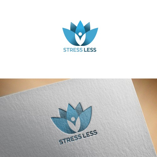 Lotus concept for consulting and bussinese logo