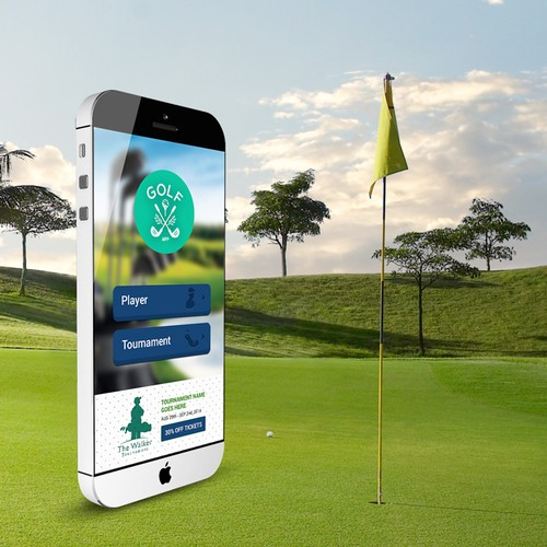 DESIGN a killer GOLF app - IOS/Android, smartphones/tablets - FAST FEEDBACK - GUARANTEED!