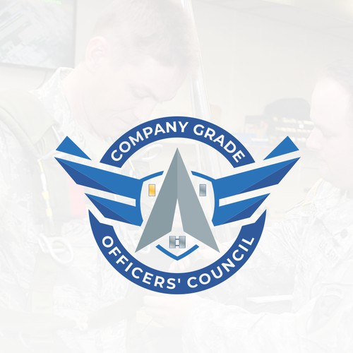 Logo concept for company grade officers council