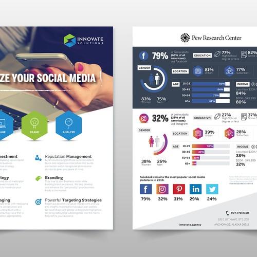One Sheet Social Media