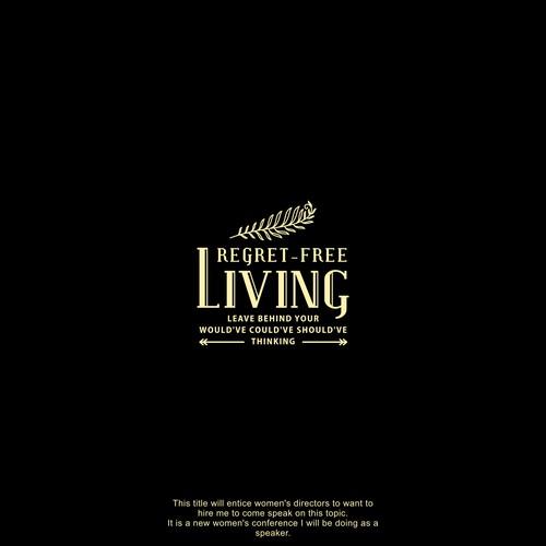 Logo concept for Regret-Free Living