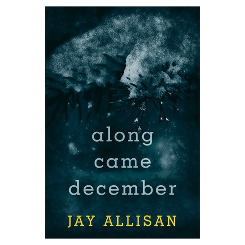 """Book cover for """"Along Came December"""""""