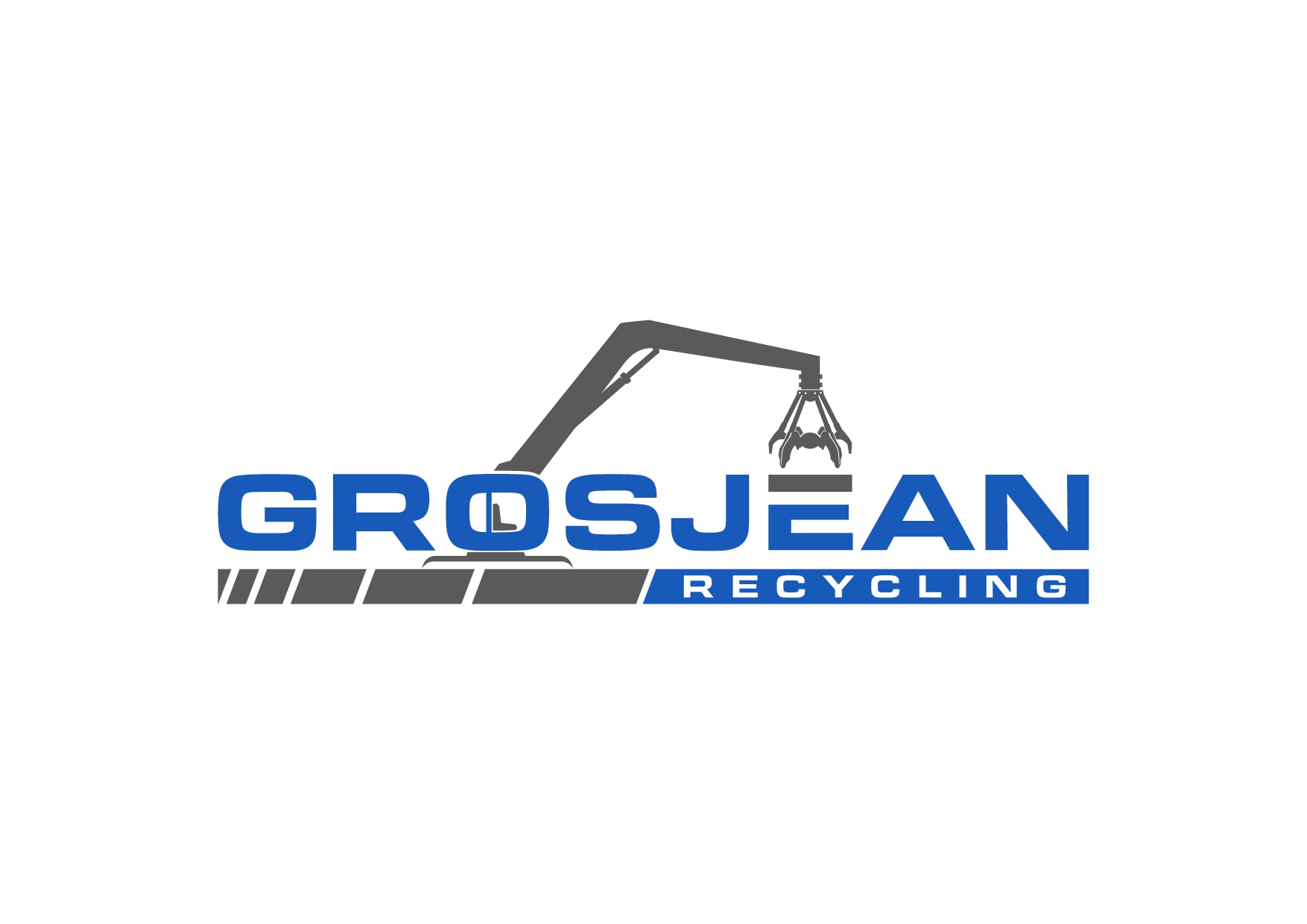 Design a logo for metal recycling company