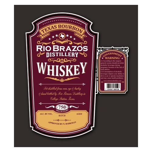 Rio brazos Texas Bourbon
