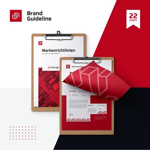 Premium Brand Guide and Brand Identity