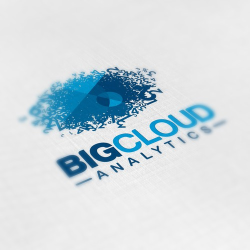 Create the next logo for Big Cloud Analytics