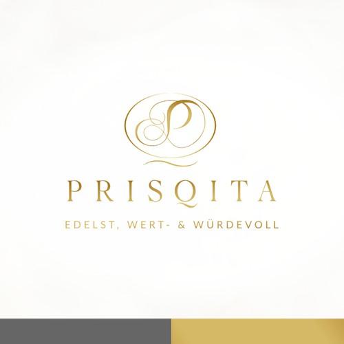 Logo for luxury textile company