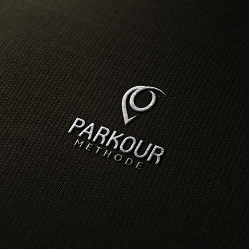 Parkour Methode Logo Concept