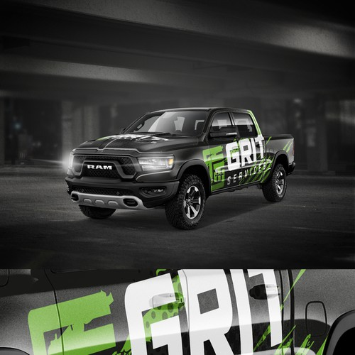 Grit Truck Wrap