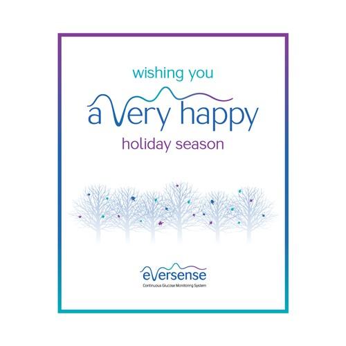 eversense holiday card 2020