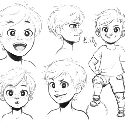 Billy - Character Design