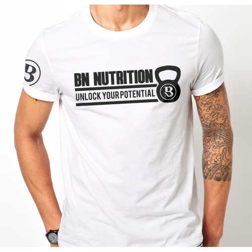 BN Nutritiont-shirt for our sponsored athlete!