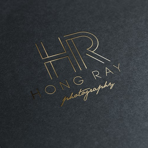 Wedding Photographer needs an awesome & 'high-end' looking logo..