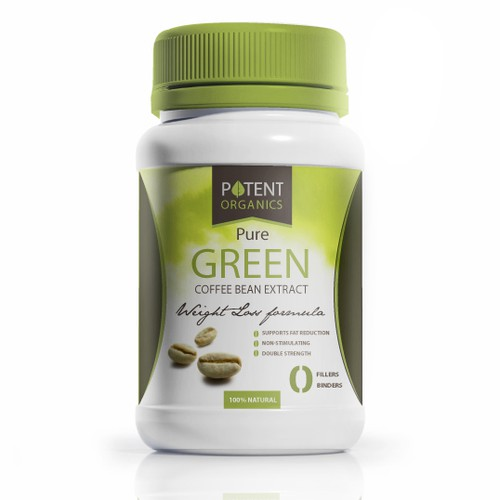 Potent organics design concept for the future line of supplements