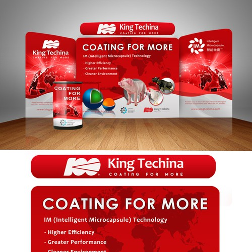 Prize Guaranteed!!! Create a Winning Booth Display for King Techina