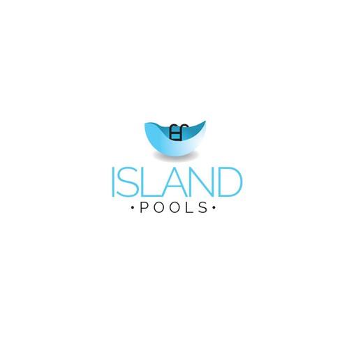 logo for Island Pools