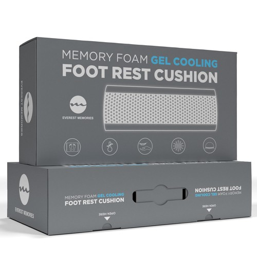 Foot Pillow Box