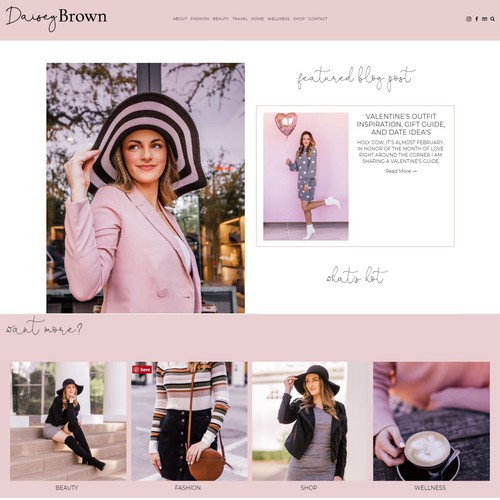 Website - Blogger and Influencer