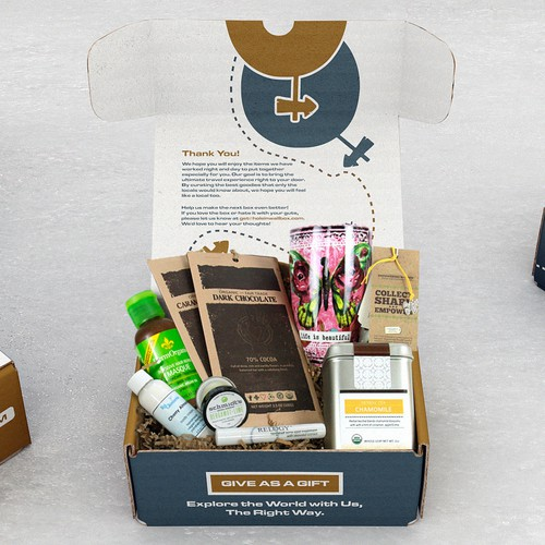 Subscription Box Mockup