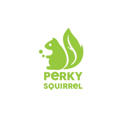 Perky Squirrel logo