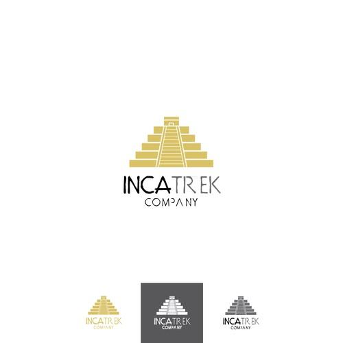 logo concept for trek company