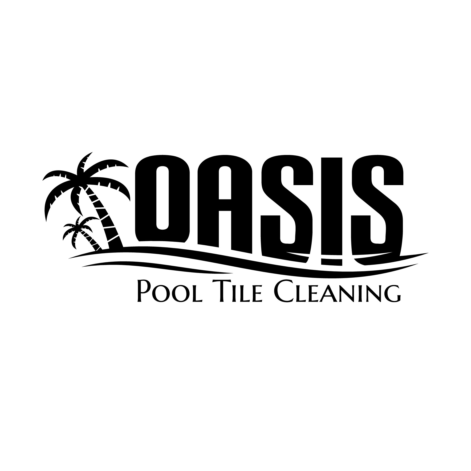 """Swimming Pool Company looking for an """"Oasis"""" logo"""