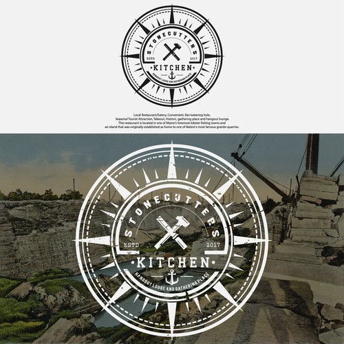 Stonecutters Kitchen Restaurant Logo Design