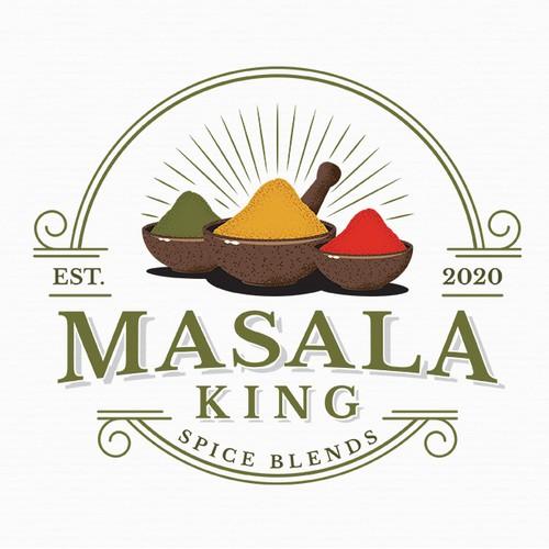 Logo For Masala King
