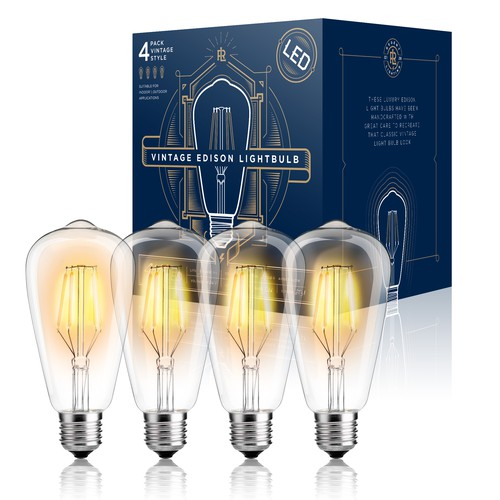 LED Vintage Light Bulb