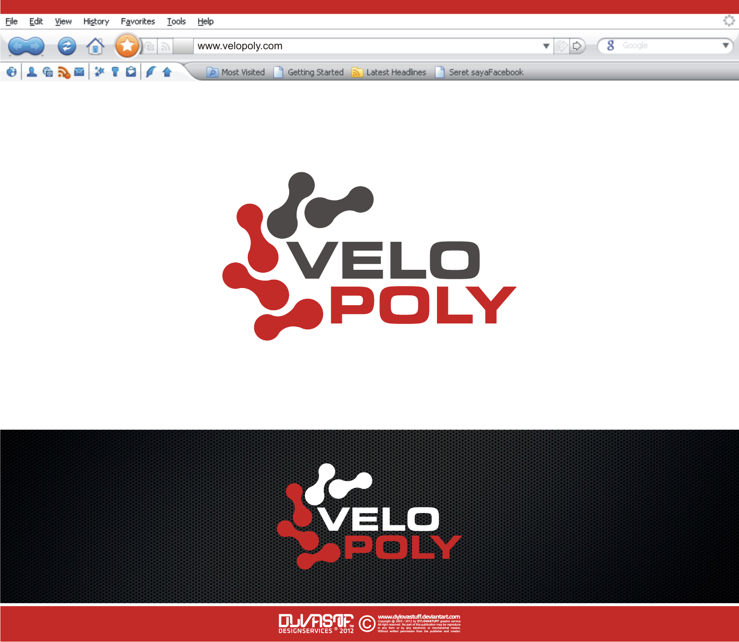 Help VELOPOLY with a new logo