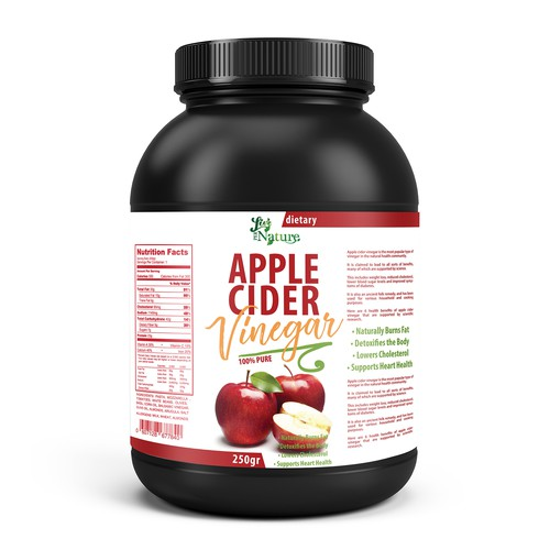 Apple Cider label design