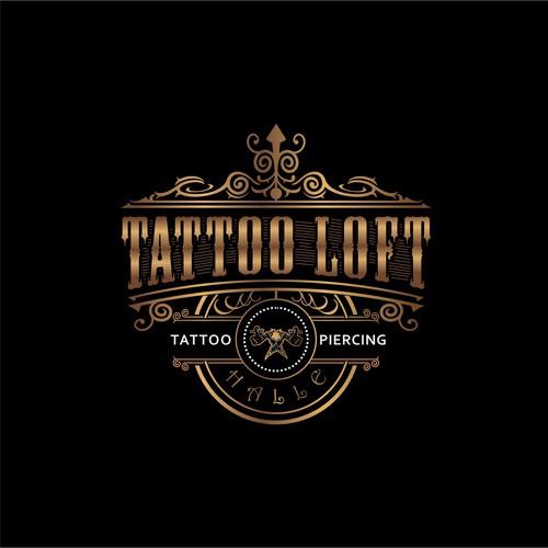 Tattoo studios logo concept