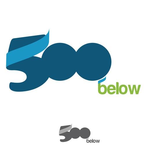 500 below logo