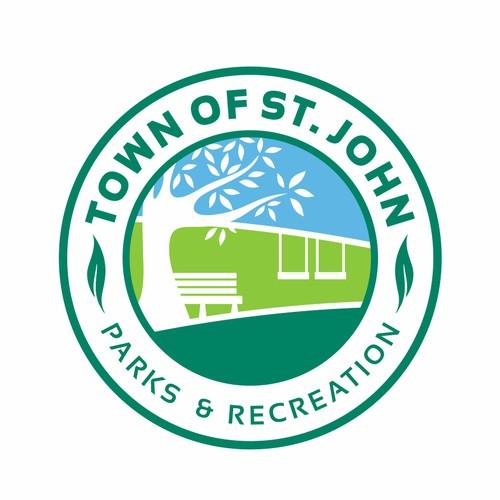 Town of St. John Parks & Recreation Logo