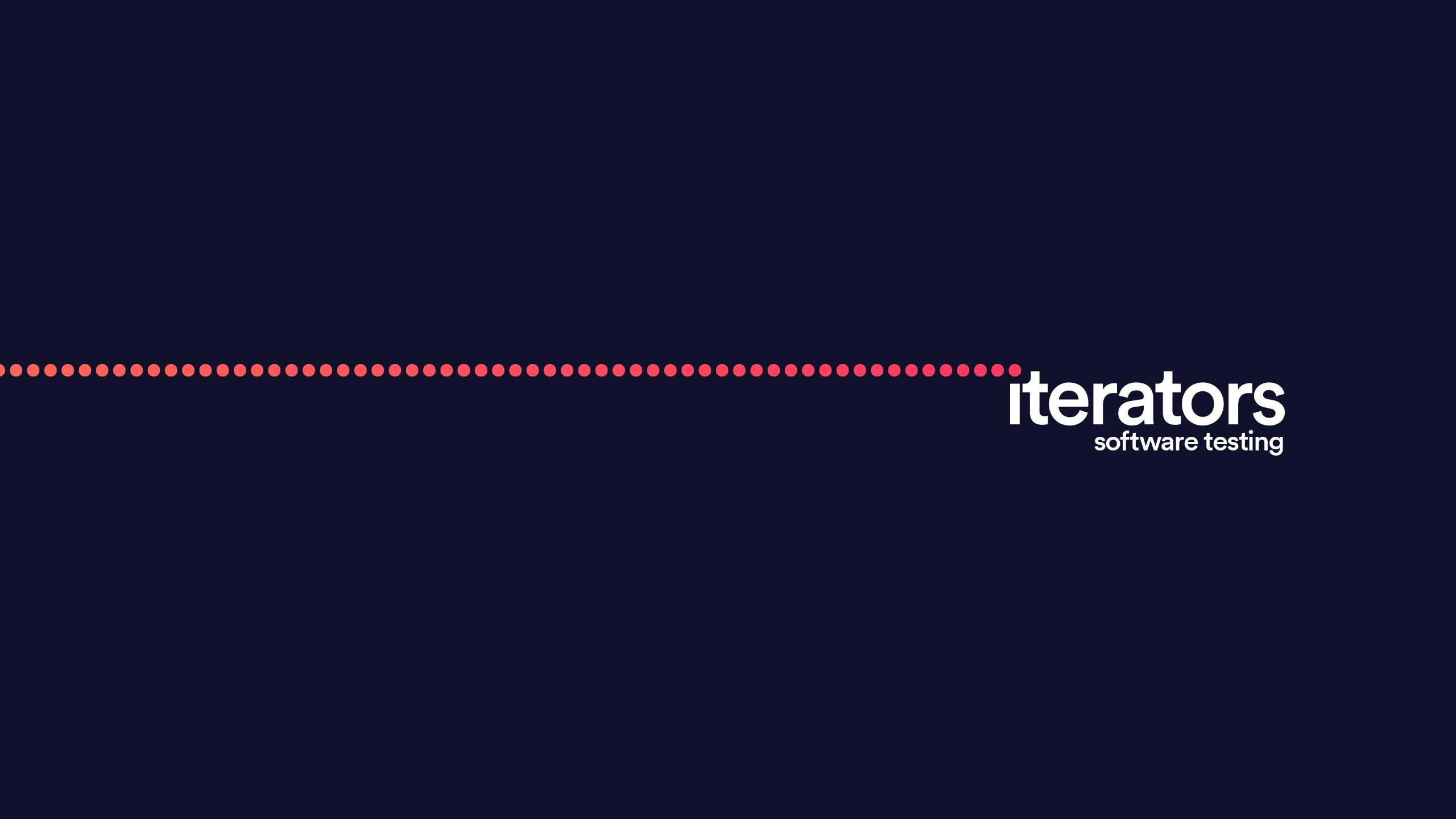 We Are Iterators