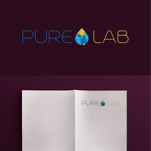 Logo concept for PureLab