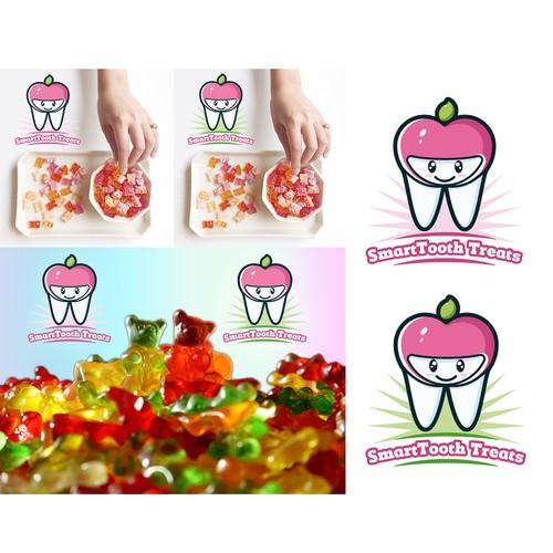Sugar-free, healthy & organic candy logo