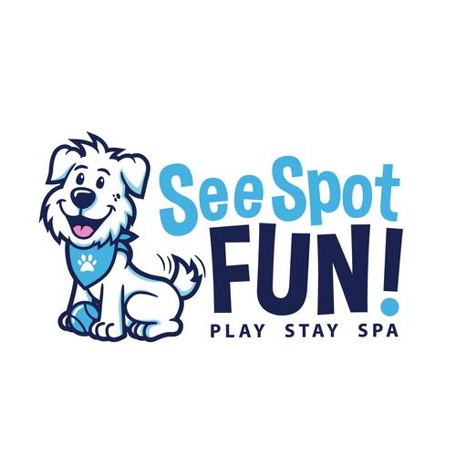 See Spot Fun logo