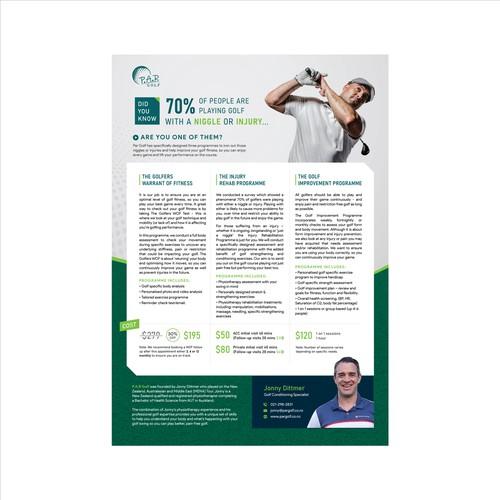 ENTRY - Golf Service Leaflet