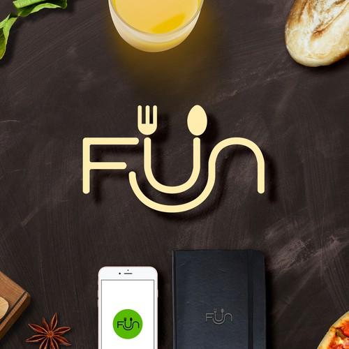 clean and fun logo for Fun
