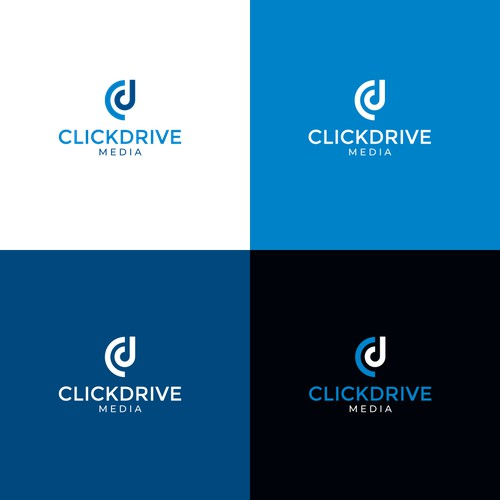 Logo for clickdrive media agency