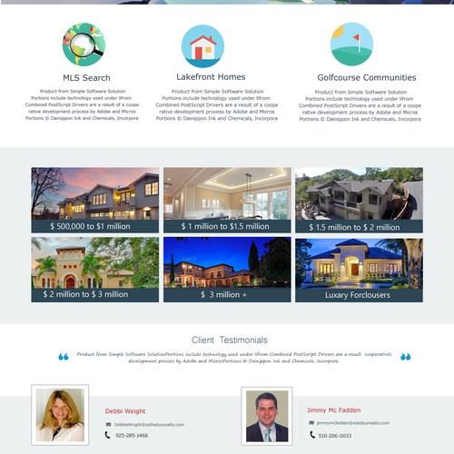 REAL ESTATE PROPERTY WEBSITE