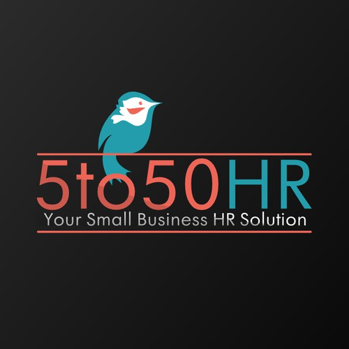 Help 5 to 50 HR with a new logo