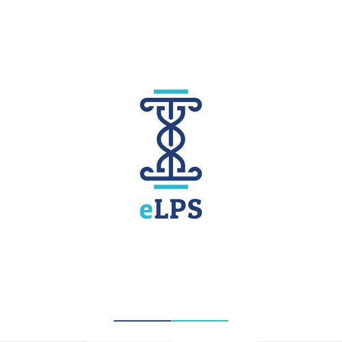 eLPS logo's with law firm icon and health icon