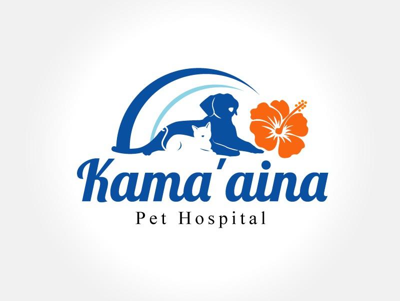 logo for Kama'aina Pet Hospital
