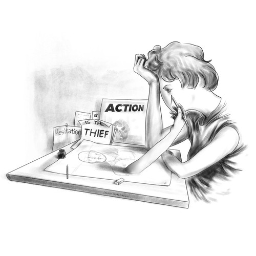 Hesitation is the Thief of Action