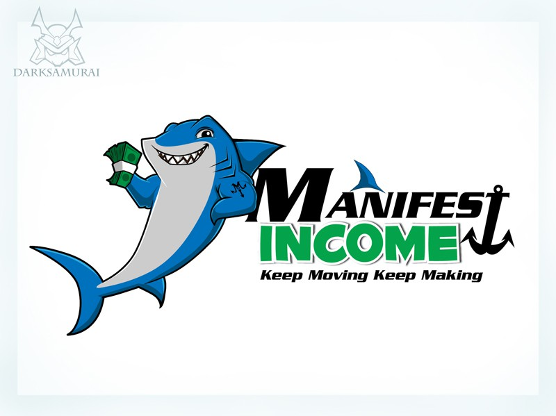 Manifest Income Shark Logo