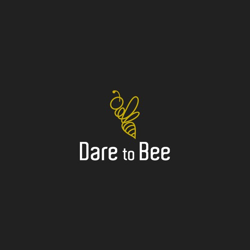 logo concept for Dare to Bee